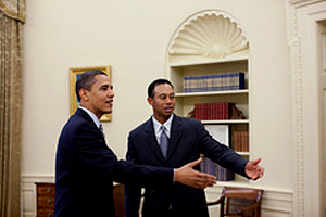 Tiger & Barack